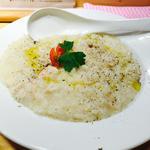 鶏白湯チーズリゾット