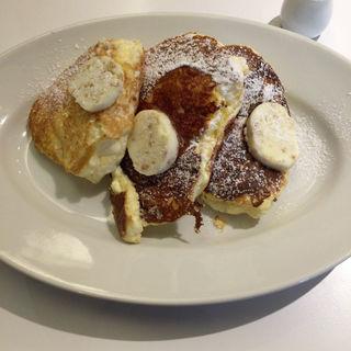 パンケーキ(リコッタチーズ)(Cheval Cafe )
