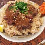 ランチセット(えんやステーキ丼)