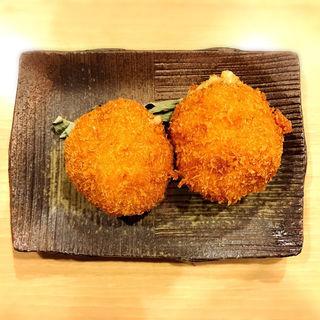 カニ味噌クリームコロッケ(すぎ乃 麻布十番 (Sugino Azabujuban))