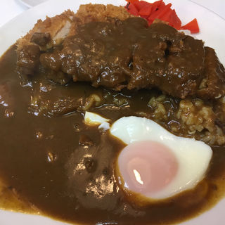カツカレーライス(レストラン ベア 本店)