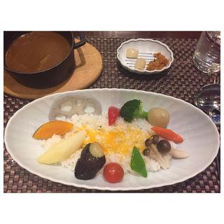 欧風野菜カレー(銀座咖喱堂 (銀座 カリー堂))