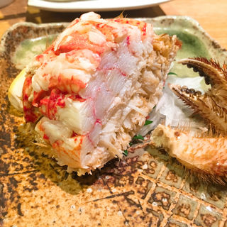 鳥取県境港産松葉蟹の塩ゆで