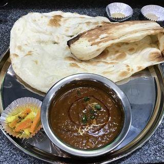 ランチ Dセット(マトンダル)(インド ネパール料理 KR)