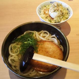 バク玉ごはんセット(うどん居酒屋 粋 六本松店)