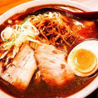 喜多方ラーメン煮干(麺や七彩)