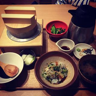 鮃の昆布〆定食(築地食堂 源ちゃん 泉パークタウンタピオ店 )