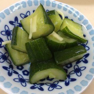 きゅうりと生姜の漬物(やまぐち )