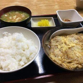 かつ玉定食(清水 (しみず))