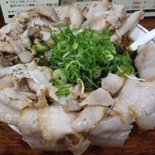 醤油ラーメン(並)肉増し(ばんらい屋 )