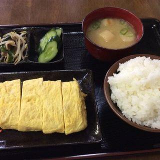 出汁巻き定食(さたけ )