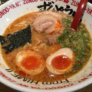 味玉HOTラーメン(ラー麺 ずんどう屋 神戸西店 )