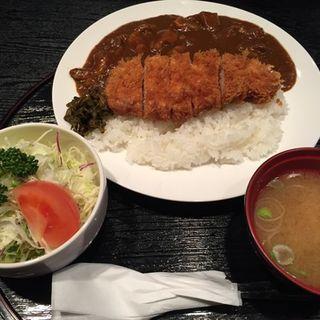 ランチ(カツカレー)(食事処 まるはち )