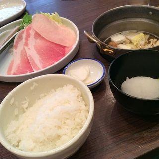 日替わりランチ鍋(鍋家 だるま堂 )