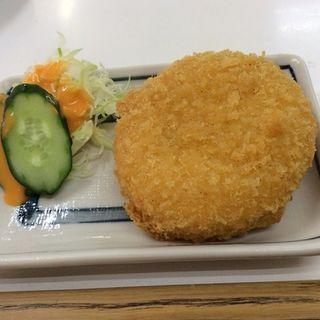 蟹コロッケ(酒房 半田屋 新世界店 )