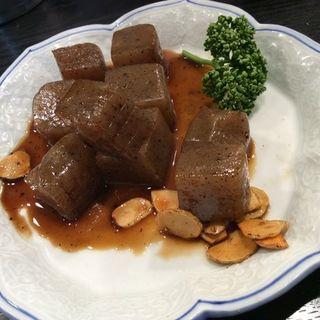 こんにゃくステーキ(立呑処 小粋 (KOIKI))