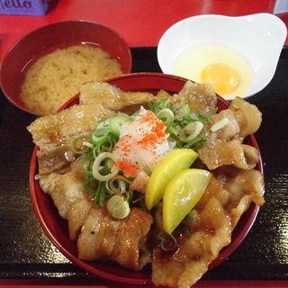 特製甘辛丼 並盛(にんにく豚丼 京都・西浦 )