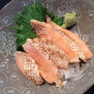 炙りトロサーモン(立呑処 小粋 (KOIKI))