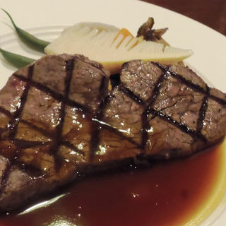岡山産牛フィレステーキ(120g) (レストラン亀遊亭 )