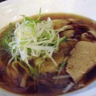 太麺濃口しょうゆ(ちょんまげ食堂 ラーメン部 )
