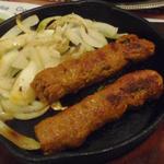 シークカバブ(ミンチと野菜のつくね) 2ピース(マネリパヤン)
