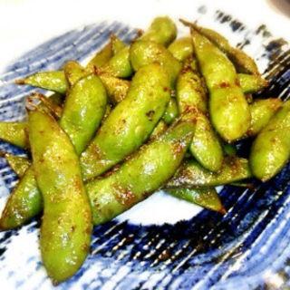 道産 生枝豆のバター醤油(遊食館 えん家)