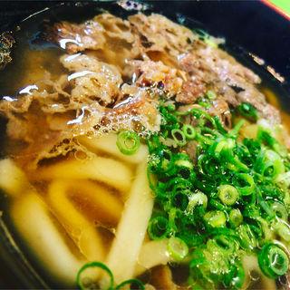 肉うどん(麺や ほり野)