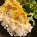 自家製のポテトサラダ