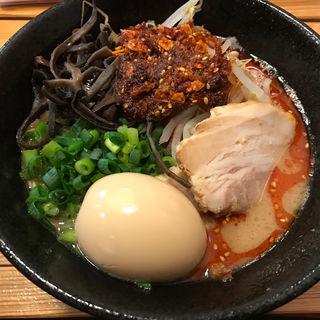 赤ラーメン(麺や 五右衛門)