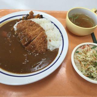 カツカレーセット(青葉区役所 食堂 )