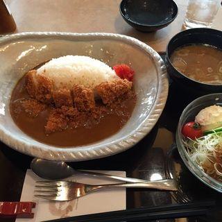 ロースカツカレー(かつ波奈 柳生店 (かつはな))