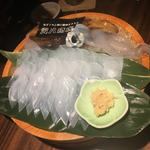 烏賊のお造り(虎八商店)