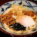 旨辛まぜ釜玉(丸亀製麺 河原町三条店 )