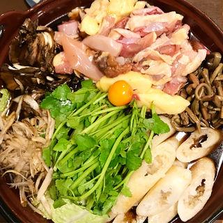 比内地鶏のきりたんぽ鍋(うちやま )