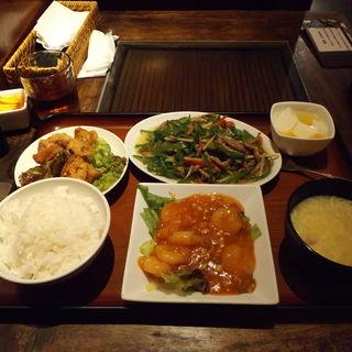 スペシャル定食(中華酒家飯店 角鹿)