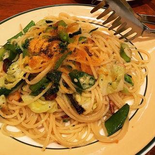 野菜とカラスミのペペロンチーノパスタ(ボスコ (BOSCO))