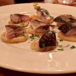 名物・炙り〆鯖とポテトのソテー