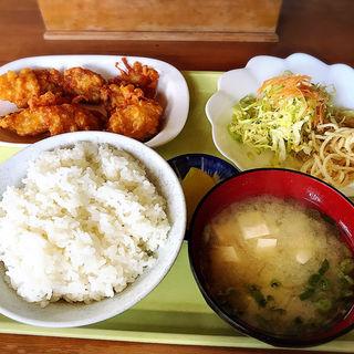 唐揚定食(長崎屋)