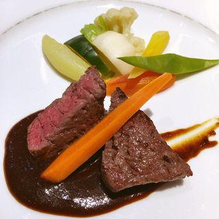 おすすめコースメイン(レストラン ラ・カンサトゥール (Restaurant LA KANCATOUR))