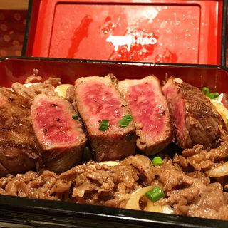焼肉弘 デラックス丼(京都タワーサンド)