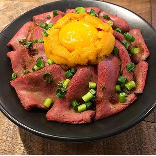 ゴッチーズビーフ ローストビーフ丼(京都タワーサンド)