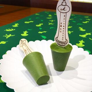 マールブランシュ 抹茶アイス(京都タワーサンド)