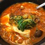 和牛スジ スン豆腐(韓丼 山科店 (カンドン))