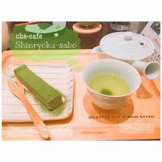 抹茶チーズケーキ(深緑茶房 )