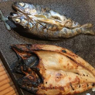 山女魚の干物(塩梅)