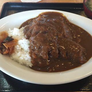 カツカレー(生そばきく家 )
