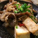 牛バラ肉の肉豆腐