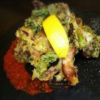 ホタルイカと菜花のフリット(Agora sapporo (アゴーラ サッポロ))