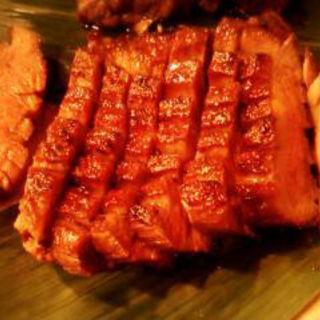 極厚 たん元の炭火焼き(牛たん・旬菜 鈴の屋)