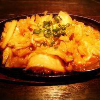 自家製味噌のホルモン鉄板焼(桜日和 (さくらびより))